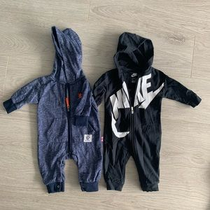 Toddler zip up onesie set
